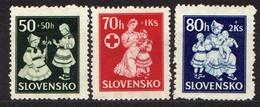 Slowakei / Slovakia, 1943, Mi 112-114 * [060419XXV] - Slowakische Republik