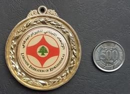 Lebanon Medal - Karate Federation - Tokens & Medals