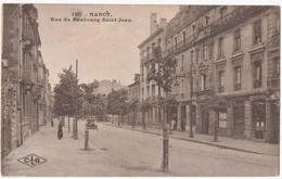 NANCY (54) RUE Du FAUBOURG SAINT-JEAN. 1928. - Francia
