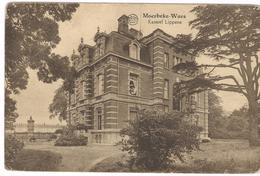 1933 Moerbeke Waas - Chateau Kasteel Mevr. M. Lippens De Kerchove - Gelopen Kaart - Ed. Van De Sompel Dieleman - Moerbeke-Waas