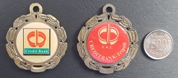 Lebanon College Des Freres Tripoli 2 Different Medals - Tokens & Medals