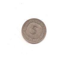 5 Mark 1992G - [ 7] 1949-… : RFA - Rép. Féd. D'Allemagne