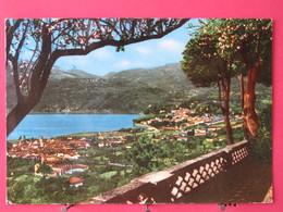 VIsuel Pas Très Courant - Italie - Luino E Germignaga Panorama - Scans Recto-verso - Luino
