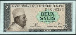 GUINEA - 2 Sylis 1981 UNC P.21 - Guinea