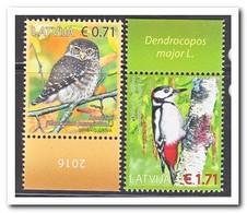 Letland 2016, Postfris MNH, Birds, Owl - Letland