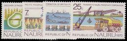 Nauru 1975 Phosphate Mining Anniversaries Unmounted Mint. - Nauru
