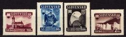 Slowakei / Slovakia, 1943, Mi 124-127 * [060419XXV] - Slowakische Republik