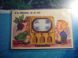 1 Carte Postale Systeme  COURSEULLES - Courseulles-sur-Mer