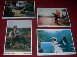 Vanessa Williams UNDER THE GUN Sam J Jones 4x Yugoslavian Lobby Cards - Photographs