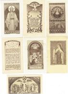 Image Pieuse - Lot 7 - Abbaye De Maredret Belgique - Images Religieuses