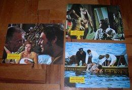 Veronique Vendell - Ich Schlafe Mit Meinem Mörder - Harald Leipnitz - 3x Yugoslavian Lobby Cards - Photographs