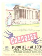 Buvard Biscottes Allégées Grégoire MAISON CARREE à Nimes - Biscottes