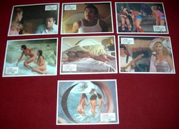 Virna Lisi LA CICALA Anthony Franciosa 7x Yugoslavian Lobby Cards - Foto's