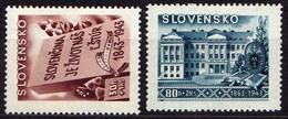 Slowakei / Slovakia, 1943, Mi 128; 130 * [060419XXV] - Slowakische Republik
