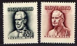Slowakei / Slovakia, 1944, Mi 132-133 ** [060419XXV] - Slovaquie