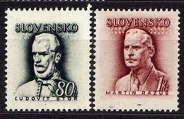 Slowakei / Slovakia, 1944, Mi 132-133 ** [060419XXV] - Slowakische Republik