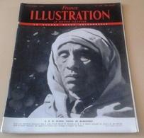 France Illustration N°278 Février 1951 Maroc Pacha Marrakech,Indochine Bataille Crêtes Tonkin,Tignes Donzieres Mondragon - Books, Magazines, Comics