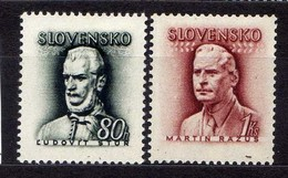 Slowakei / Slovakia, 1944, Mi 132-133 * [060419XXV] - Slovaquie