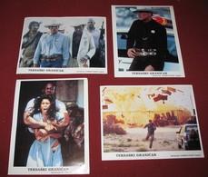 Walter Hill EXTREME PREJUDICE Nick Nolte  4x Yugoslavian Lobby Cards - Foto's