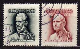 Slowakei / Slovakia, 1944, Mi 132-133, Gestempelt [060419XXV] - Slowakische Republik