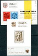 ANDORRE - Viguerie épiscopale - BF Europa  Et Année Internationale De L'Enfance 1979 - Timbres