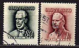 Slowakei / Slovakia, 1944, Mi 132-133, Gestempelt [060419XXV] - Slovaquie