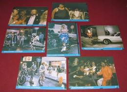 Warren Davis OUTTAKES Jim Fay -  7x Yugoslavian Lobby Cards - Foto's