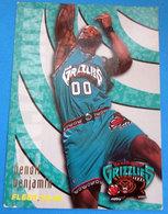 BENOIT BENJAMIN CARDS NBA FLEER 95-96 N 341 GRIZZLIES - Altri