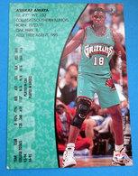 ASHRAF AMAYA CARDS NBA FLEER 95-96 N 339 GRIZZLIES - Trading Cards