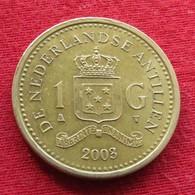 Netherlands Antilles 1 Gulden 2003 KM# 37  Antillen Antilhas Antille Antillas - Antille Olandesi