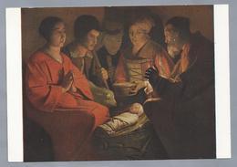 FR.- Musée Du Louvre. Georges DU MENIL DE LA TOUR. Adoration Des Bergers. Adoration Of The Shepherds. - Museum