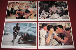 Willem Dafoe OFF LIMITS Gregory Hines  4x Yugoslavian Lobby Cards - Photographs