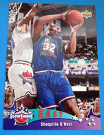 SHAQUILLE O'NEAL CARDS NBA FLEER 1993 N 4 ALL-STAR WEEKEND - Altri