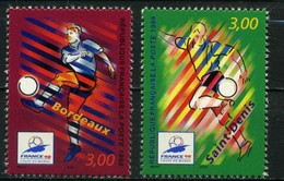 FRANCE     Coupe Du Monde De Football 1998    N° Y&T  3130 Et 3131  ** - France