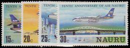 Nauru 1980 10th Anniv Of Air Nauru Unmounted Mint. - Nauru