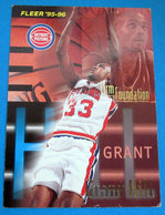 GRANT HILL  CARDS NBA FLEER 1996 N 398 - Altri