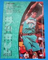 CHRIS KING  CARDS NBA FLEER 1996 N 345 GRIZZLIES - Altri