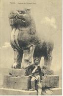 CHINE - CHINA -  HONAN - Tombeau De L'Epoque Tang- Cachet De La Poste 1923 - Chine