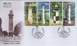 Sri Lanka (2018) - FDC -  /  Leuchtturm - Faro - Phares - Lighthouses - Vuurtorens