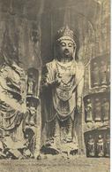 CHINE - CHINA -  HONAN - LUNGMEN - Le Boddhisattva Du Coin Nord-ouest De L'esplanade - Cachet De La Poste 1923 - China