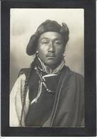 CPA Tibet Thibet Asie écrite Carte Photo RPPC - Tibet