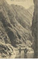 CHINE - CHINA -  HONAN - Les Gorges De Tung Ho  - Cachet De La Poste 1923 - Chine