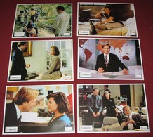 William Hurt BROADCAST NEWS Holly Hunter 6x Yugoslavian Lobby Cards - Foto's