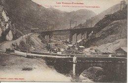 CPA LABOUCHE 830 - URDOS Fort Vallée D'Aspe Chemin De Fer Ligne Du Transpyrénéen 64 - Frankrijk