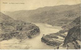 CHINE - CHINA -  HONAN - Le Fleuve Jaune à SANMEN  - Cachet De La Poste 1922 - Chine