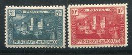 Monaco / 1922 / Mi. 63/64 * (11548) - Monaco