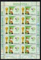 MOLDAVIE  Timbres Neufs ** De 2006    ( Ref 6309 )  Sport  Football - Moldavie