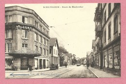 67 - SCHILTIGHEIM - Route De Bischwiller - Grands Magasins Populaires A. JUNG - Tram - Tramway - Strassenbahn - Schiltigheim