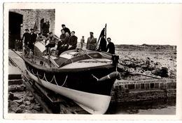 Cpsm - La Hague-auderville-goury- Canot De Sauvetage Victoire Des Allies - France