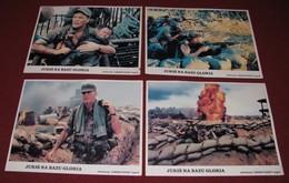 Wings Hauser - The Siege Of Firebase Gloria - Brian Trenchard-Smith  - 4x Yugoslavian Lobby Cards - Photographs